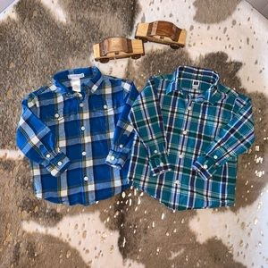 Janie and Jack Shirt Bundle 18-24M